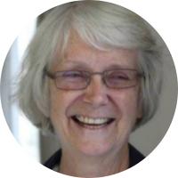 Prof Valerie Robertson (white)